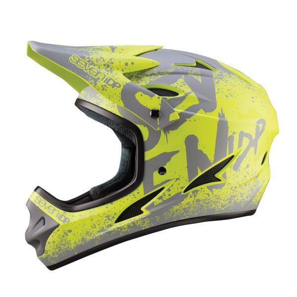 7IDP M1 HELMET GRADIENT MATT LIME/GREY S ( 55-56CM )