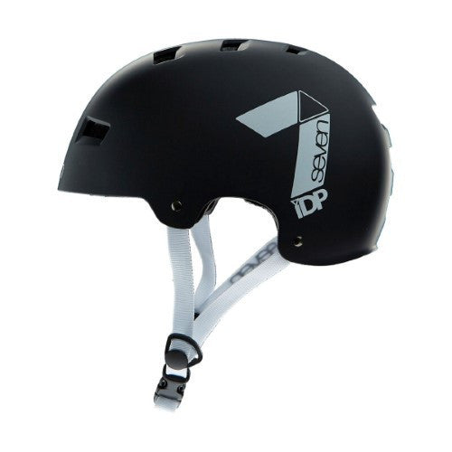 7IDP M3 DIRT LID MATT BLACK/ WHITE S/M - Bike technics