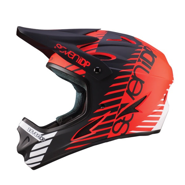 7IDP M1 HELMET TACTIC MATT RED/BLACK/WHITE XL ( 60-61CM )