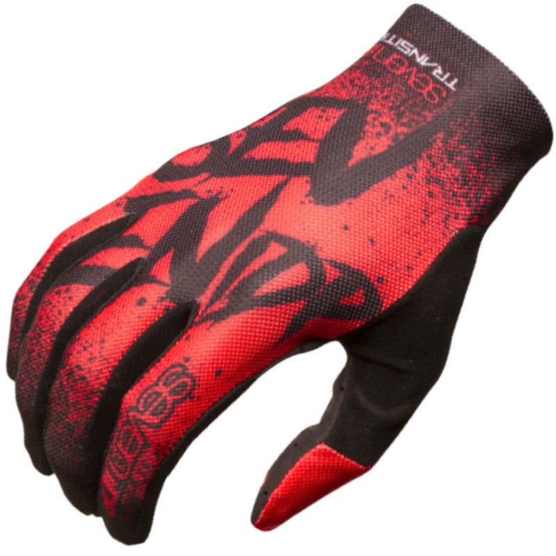 7IDP Transition Glove Gradient RED/BLACK SMALL
