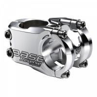 REVERSE STEM BASE 31.8 40MM SILVER POLISH - Bike technics