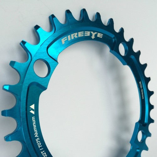 FIREEYE FE N-W CHAIN RING 32T BLUE - Bike technics