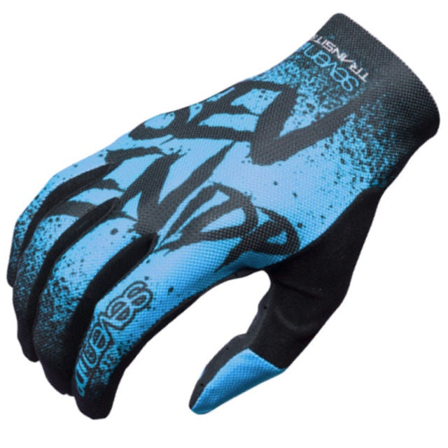 7IDP Transition Glove Gradient BLUE/BLACK LARGE