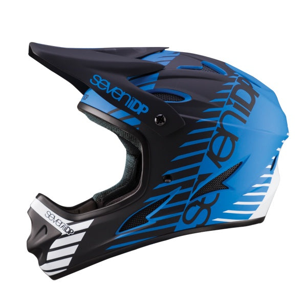 7IDP M1 HELMET TACTIC MATT BLUE/BLACK/WHITE M ( 57-58CM )