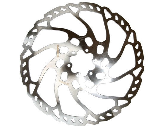 SHIMANO ROTOR ISMRT66L 203MM 6B - Bike technics