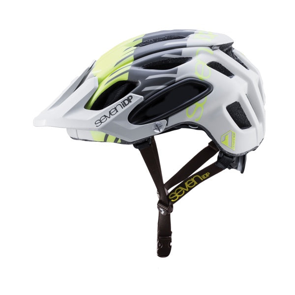 7iDP Helmet M2 Tactic Matte GREY/YELLOW/BLACK XS/S