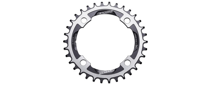 REVERSE BLACK ONE CHAINRING 34T BLACK