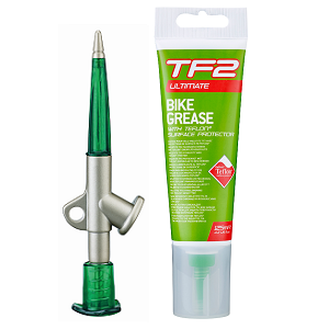 TF2 Grease Gun and Bike Grease with Teflon™ (125ml) - Bike technics