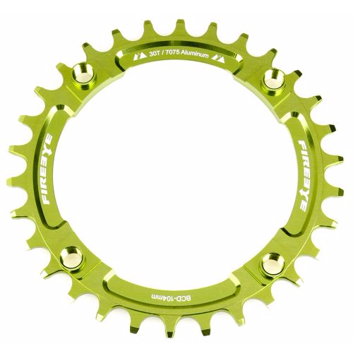 FIREEYE FE N-W CHAIN RING 30T GREEN - Bike technics