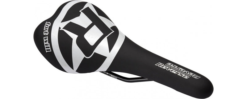 Reverse Saddle Fort Will Chromoly Rails BLACK/WHITE