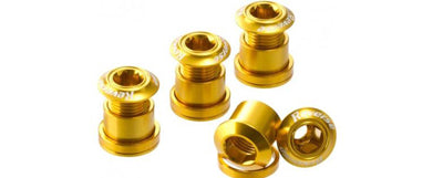 REVERSE CHAINRING BOLT SET GOLD