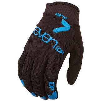 7iDP Glove Flex BLACK/ELECTRIC BLUE Large