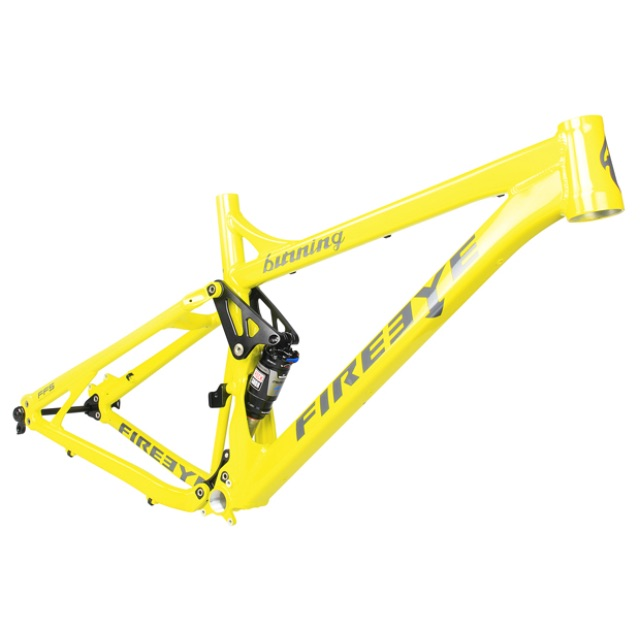 FIREEYE MOUNTAIN BIKE (MTB) FRAME - BURNING 2014 (SHOCK NOT INCLUDED) - Bike technics