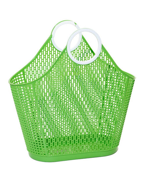 Green Fiesta Retro Shopper