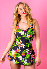 The Carmen 1950s Style Swimdress