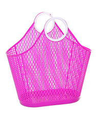 Pink Fiesta Retro Shopper
