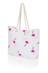 For Luna's Flamingo Beach Bag