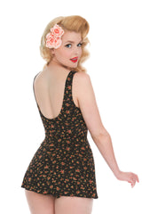 1950s Retro Style Swimdress