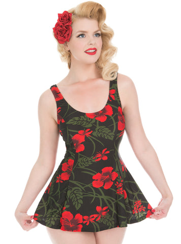 1950s Retro Swimdress