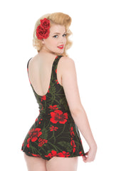 Retro Style  1950s Swimdress