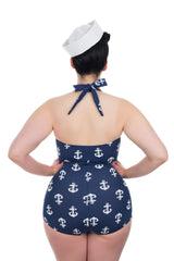 Plus Size Retro vintage Swimsuit