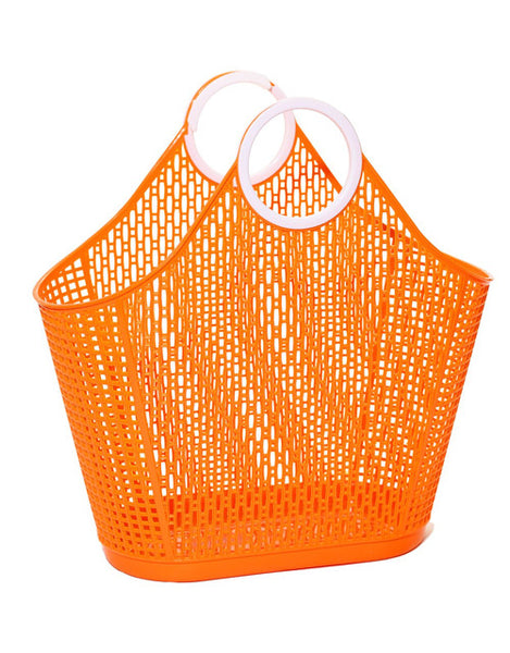 Orange Fiesta Retro Shopper