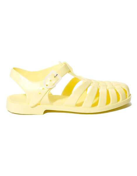 French Jelly Shoes - Banana
