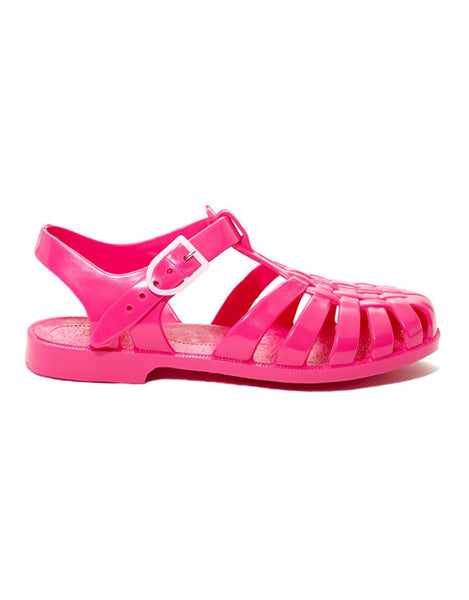 French Jelly Shoes - Raspberry