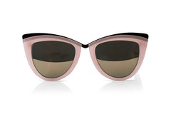 Classic 1950s Sunglasses In Rose