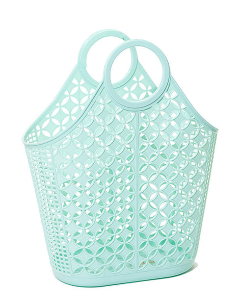 Sun Jellies Retro Tote Bag - Mint