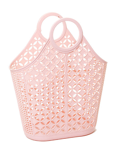 Sun Jellies Retro Tote Bag - Pink