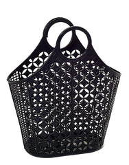 Sun Jellies Retro Tote Bag - Black