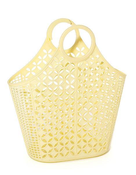 Sun Jellies Retro Tote Bag - Yellow