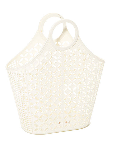 Sun Jellies Retro Tote Bag - Ivory