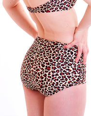 The Leopard Print Bikini Pants
