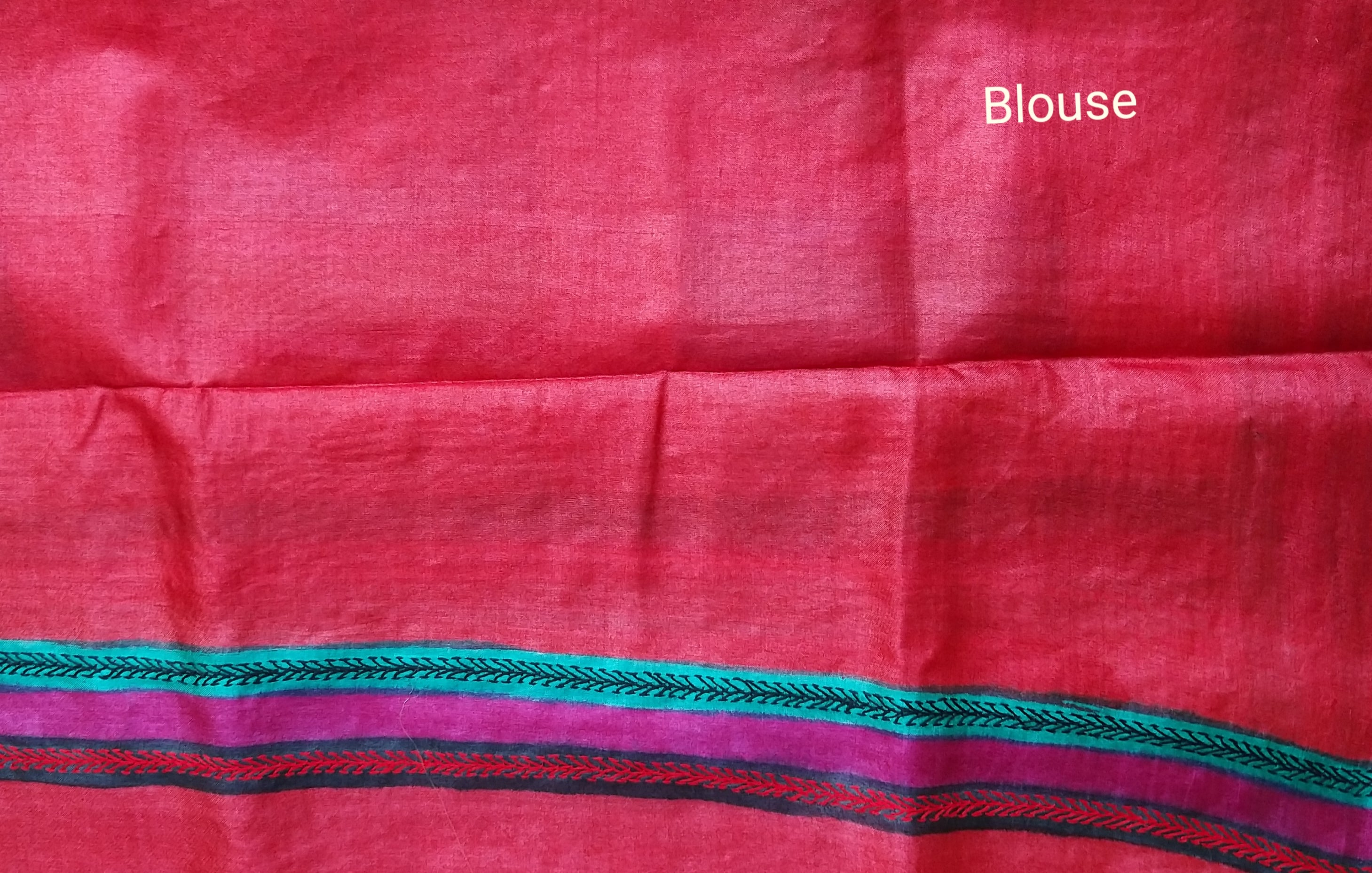 HAND EMBROIDERY SILK SAREE