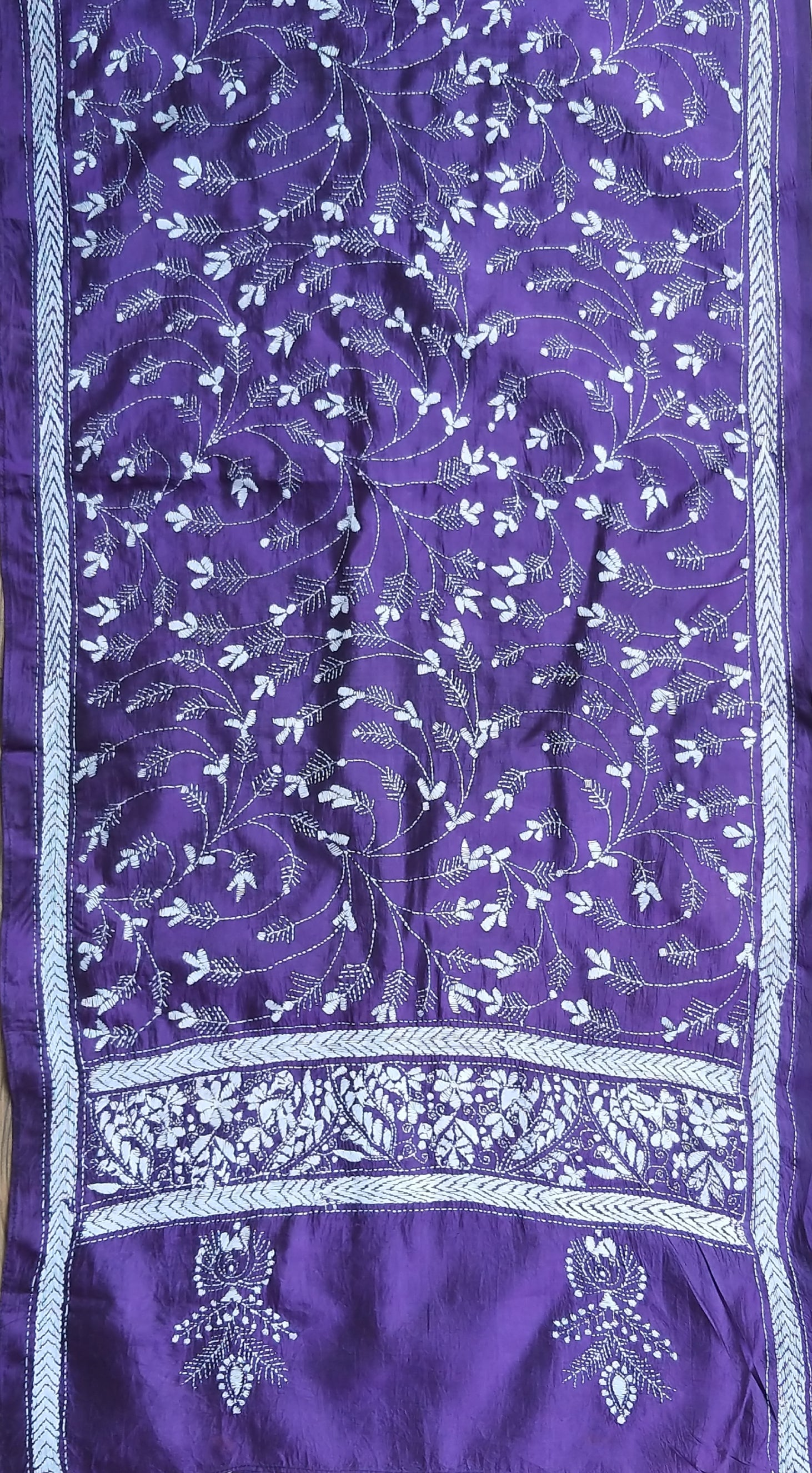 HAND EMBROIDERY STOLE