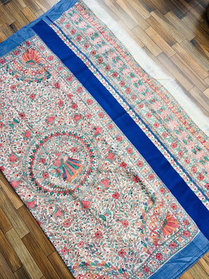 MADHUBANI COTTON SAREE