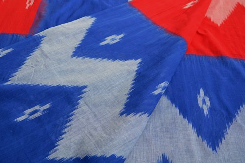 DOUBLE IKAT COTTON SAREE