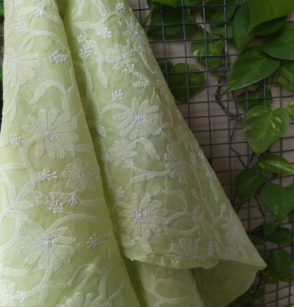 CHIKANKARI COTTON DUPATTA