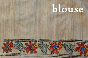 MADHUBANI HANDPAINTED SAREE