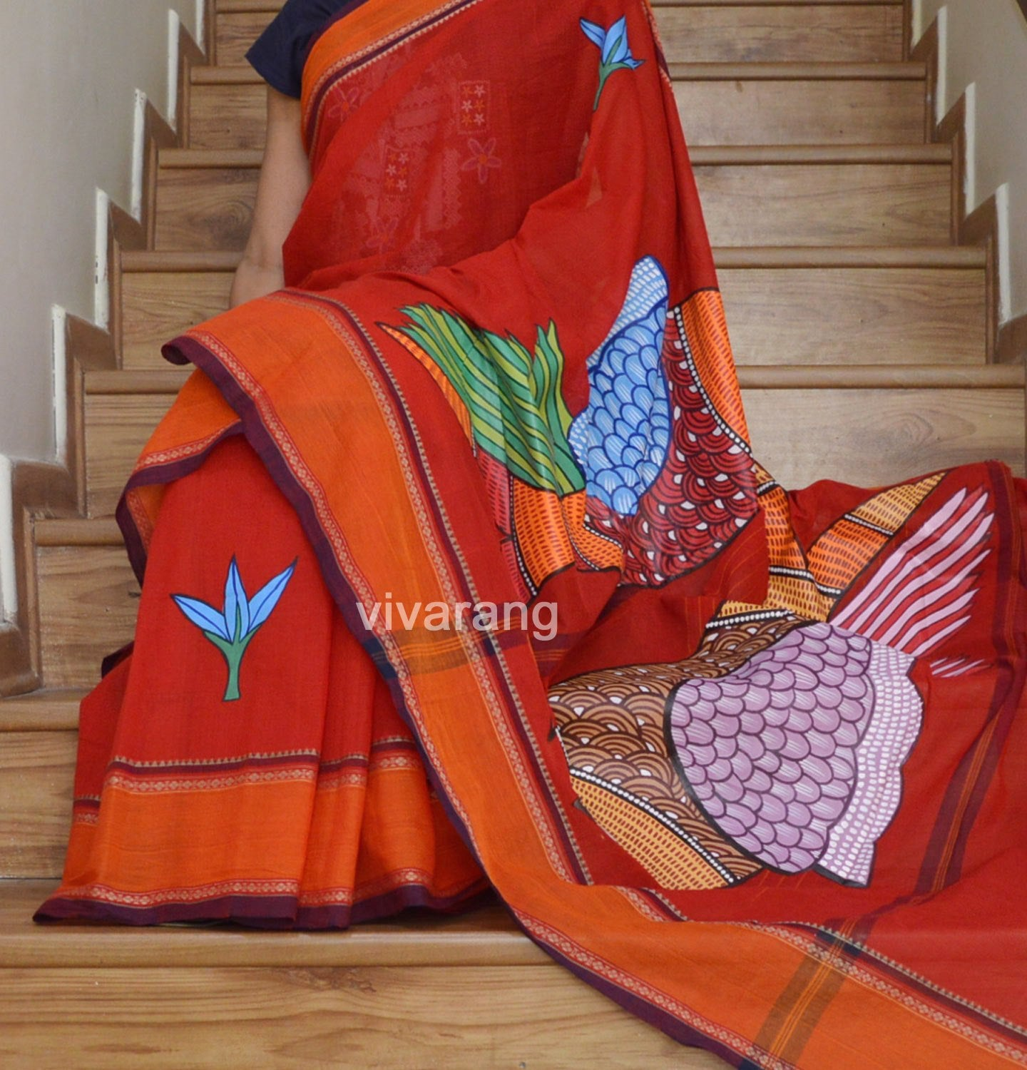GOND ART SAREE