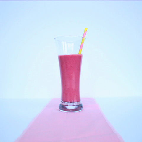 Anana-berry smoothie