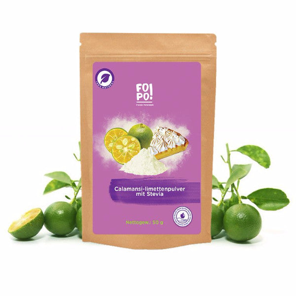 Zingy Calamansi (Golden Lime) powder with stevia