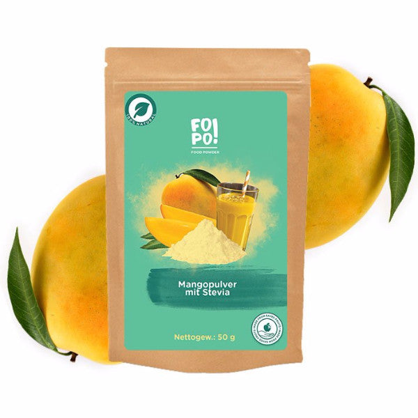 Mouthwatering Mango Powder with stevia