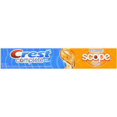 Crest Complete Multi-Benefit Whitening + Scope Citrus Splash
