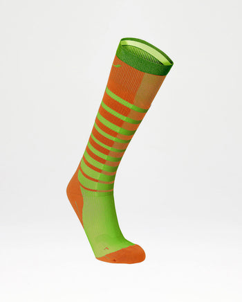 Men's Striped Run Compression Socks : MA4007E