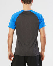 Tech Vent 2 Tone Short Sleeve Top