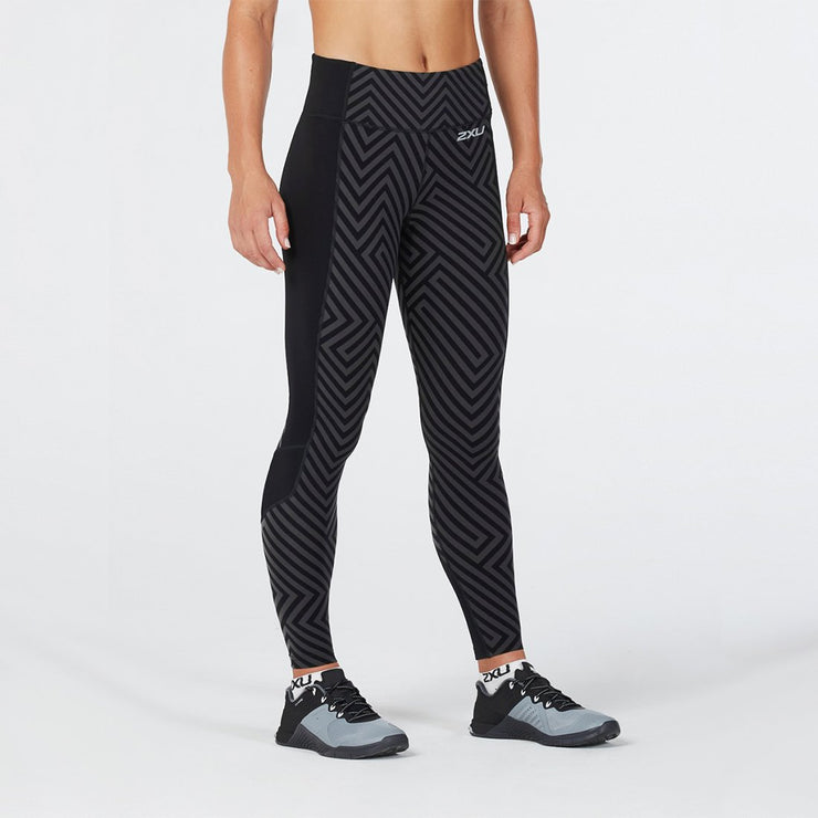 Pattern Fitness Compression Tights