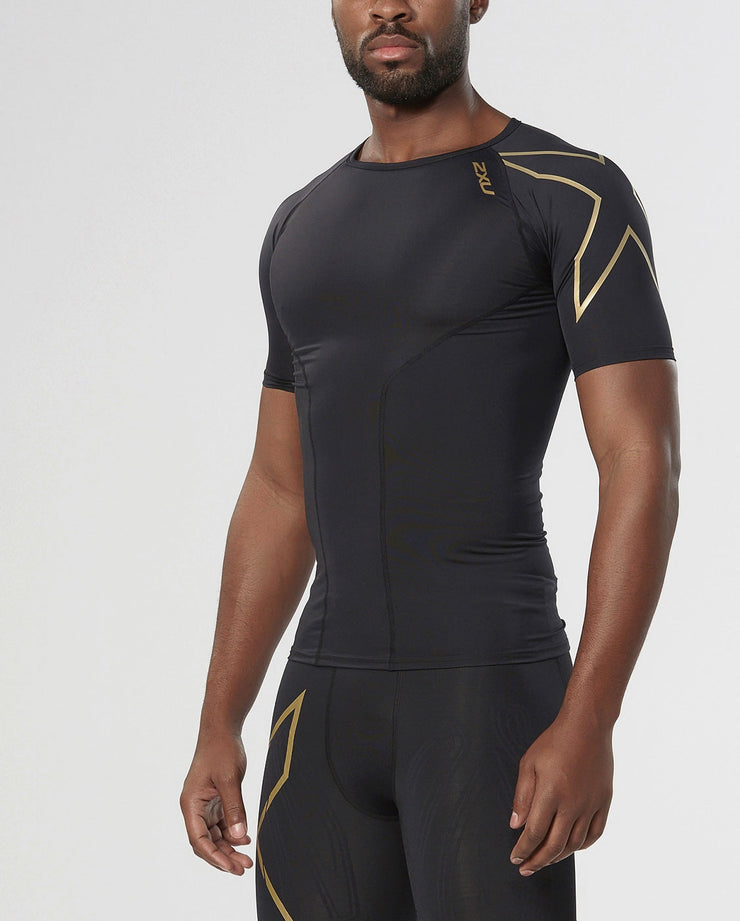 Men's Elite Compression Short Sleeve Top : MA3013A